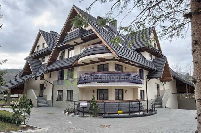 widok na Chałubińskiego Residence
